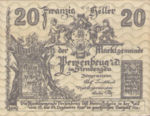 Austria, 20 Heller, FS 735IIa