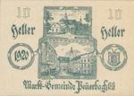 Austria, 10 Heller, FS 741IIa