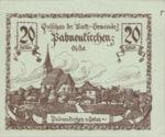 Austria, 20 Heller, FS 719d
