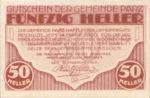 Austria, 50 Heller, FS 721a