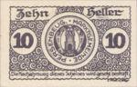 Austria, 10 Heller, FS 735I