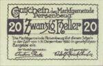 Austria, 20 Heller, FS 735I