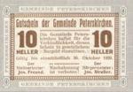 Austria, 10 Heller, FS 736bA