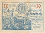 Austria, 10 Heller, FS 741Ia