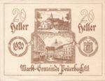 Austria, 20 Heller, FS 741IIa