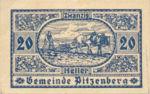 Austria, 20 Heller, FS 753