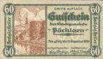 Austria, 60 Heller, FS 755III