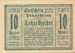 Austria, 10 Heller, FS 727b