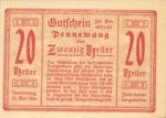 Austria, 20 Heller, FS 727b