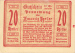 Austria, 20 Heller, FS 727bx