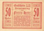 Austria, 50 Heller, FS 727b
