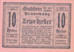 Austria, 10 Heller, FS 727d
