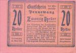 Austria, 20 Heller, FS 727d