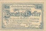 Austria, 20 Heller, FS 744Ib