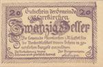 Austria, 20 Heller, FS 744Ic