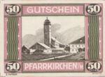 Austria, 50 Heller, FS 744IIe