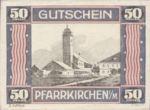 Austria, 50 Heller, FS 744SSIIIf