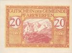 Austria, 20 Heller, FS 745b