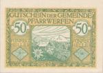 Austria, 50 Heller, FS 745b