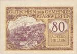 Austria, 80 Heller, FS 745b