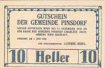 Austria, 10 Heller, FS 750