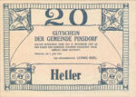 Austria, 20 Heller, FS 750