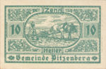 Austria, 10 Heller, FS 753