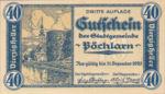 Austria, 40 Heller, FS 755III