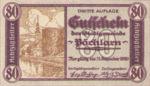 Austria, 80 Heller, FS 755III