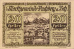Austria, 20 Heller, FS 786a
