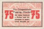 Austria, 75 Heller, FS 792IIc