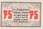 Austria, 75 Heller, FS 792IIe