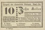 Austria, 10 Heller, FS 793IIIb