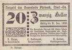 Austria, 20 Heller, FS 793IIIb
