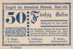 Austria, 50 Heller, FS 793IIIb