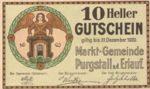 Austria, 10 Heller, FS 794II