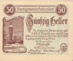 Austria, 50 Heller, FS 801a