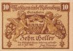 Austria, 10 Heller, FS 807e