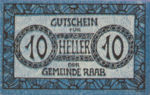 Austria, 10 Heller, FS 805Ia
