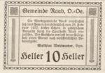 Austria, 10 Heller, FS 805IIa