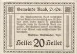 Austria, 20 Heller, FS 805IIa