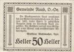 Austria, 50 Heller, FS 805IIa