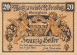 Austria, 20 Heller, FS 807a