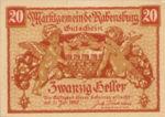 Austria, 20 Heller, FS 807e