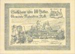 Austria, 10 Heller, FS 808Ia
