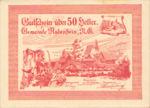 Austria, 50 Heller, FS 808IIa