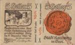 Austria, 10 Heller, FS 821I
