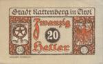 Austria, 20 Heller, FS 821I
