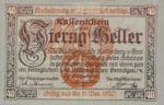 Austria, 40 Heller, FS 821I
