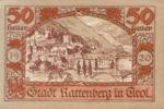 Austria, 50 Heller, FS 821I